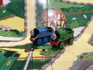 thomas and friends wooden railway Battery Trains Thomas And Percy