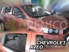 CHEVROLET AVEO Break 5-portes 2011-2015 Deflecteurs de vent 4pcs HEKO Bulles