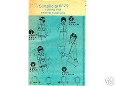 Sewing Pattern BOY'S Short or Long Sleeve SHIRT-JACKET, SHIRT 8