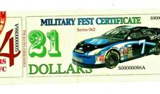 """$21 """"Military Fest Payment Certificate"""" (Low Serials)! $21 Rare Military Item!"""