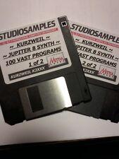 KURZWEIL ~ JUPITER 8 SYNTH ~ Floppy Disk Format: K2XXX/K2VP/K2500/K2600 SYNTHS!