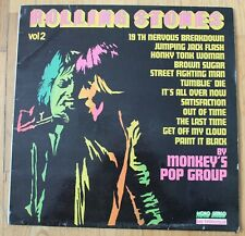 Rolling Stones vol 2 by Monkey's Pop Group - cover, LP - 33 tours