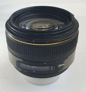 Sigma 30mm f1.4 DC EX HSM lens Nikon f mount