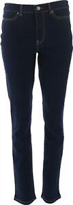 Motto Strch Denim 5-Pocket Straight-Leg Jean Midnight Wash 4 Petite # 630-649