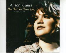 CD ALISON KRAUSSnow that i've found youEX  (B2848)