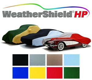 Covercraft Custom Car Covers - WeatherShield HP 2-Tone- Indoor/Outdoor- 8 Colors