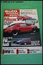 AMS Auto Motor Sport 14/88 BMW Alpina B6 3.5 Porsche 928 S4 BMW 730i750i L