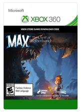 XBOX 360 GAME Max: The Curse of Brotherhood Digital Download Code (no disc)