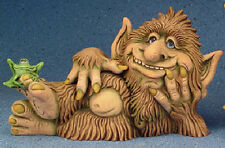 "Ceramic Bisque Ready to Paint Kazilly the Troll 16"" long"