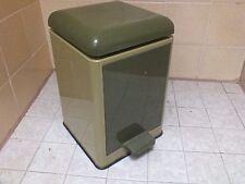 Abfallsammler Abfalleimer Mülleimer Badezimmer Mülltrennung Müllsammler Vintage