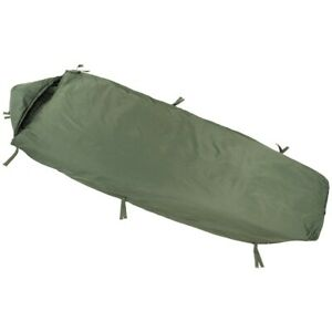 NEW - Latest Army MoD Lightweight Sleeping Bag - LARGE - with Compression Sack