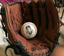 Wilson Leather Baseball Glove A2443 Black/Brown 12 1/2 (ball not included)