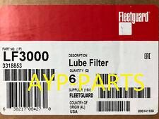 (CASE OF 6) LF3000 FLEETGUARD OIL FILTER BF7813 Cummins Komatsu International