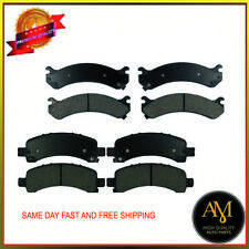 OEM Quality Brake Pads Fits Chevrolet, GMC Front & Rear Full Set