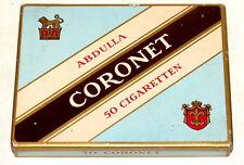 Abdulla Lion Flat 50 Cigarette Tobacco Tin 1930s