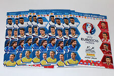 PANINI road to UEFA EURO FRANCE 2016 – 10 X ALBUM VUOTO EMPTY ALBUM not MINT!