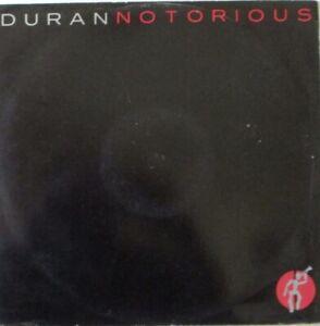 "DURAN DURAN ~ Notorious ~ 12"" Single PS"