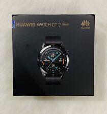 BRAND NEW HUAWEI WATCH GT 2 - LTN-B19 - GPS - SMART WATCH - MATTE BLACK