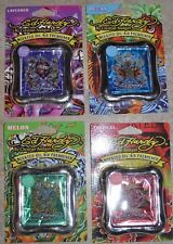 4 X ED HARDY Air Freshener Stand Frame Scented Oil /(4 Different Oil Scented)