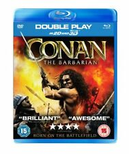 Conan the Barbarian - Double Play (Blu-ray + DVD) - DVD  40VG The Cheap Fast