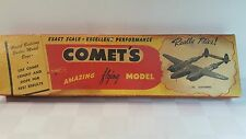 P5 Lightning wood airplane model kit by Comet