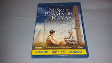 El Niño con el Pijama de Rayas / Bluray + DVD / Edición Española