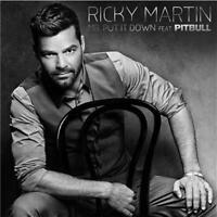 RICKY MARTIN (Personally Signed by Ricky)Mr. Put It Down Feat Pitbull SINGLE NEW