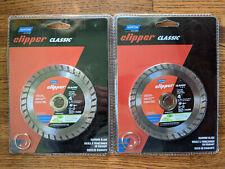 Lot Of Two Norton Clipper Classic 4 Diamond Blade Model 07660702792 New