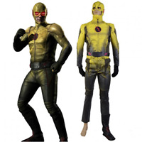 Halloween Flash Eobard Thawne Professor Zoom Costume Cosplay Power Outfit Suit