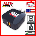 Qualcomm QC 3.0 Fast Quick Rapid Charger Wall Home USB Adapter Plug 18W 3A 12V