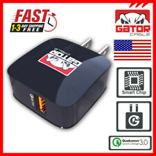Qualcomm QC 3.0 Fast Quick Charge Charger Wall Home USB Adapter 18W 3A Rapid