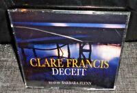 Clare Francis Deceit (AUDIO BOOK CD, 3 Discs) Read by Barbara Flynn