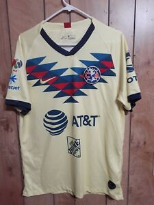 Club América 2019/20 Home Jersey, Size Large