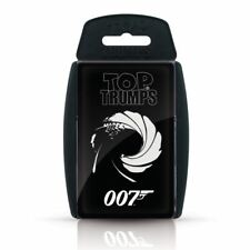James Bond 007 Top Trumps Card Game
