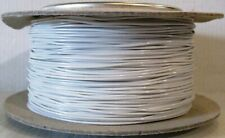 Model Railway/Railroad Layout/Point Motor Wire -100m Roll 7/0.2mm 1.4A White T48