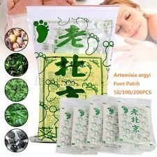 50/100/200X Fusspflaster Detox Artemisia Argyi Foot Pad Vitalpflaster Entgiftung