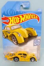 4035 HOT WHEELS / CARTE US / VOLKSWAGEN 2019 / 1/10 VW KAFER RACER JAUNE 1/64