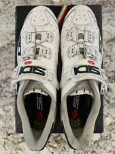 Sidi Wire Carbon Cycling Shoes Size 44 FREE SHIPPING