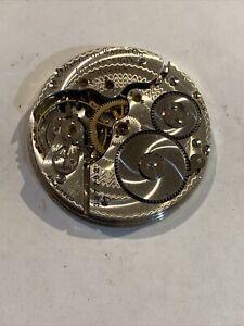 Hamilton 975 Nickel 17 Jewel 16s Antique Pocket  Watch Movement