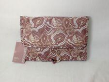 Sonia Kashuk Pink Marble Hanging Organizer Valet Cosmetic Case Travel Bag (#R89)