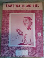 1954 Charles Calhoun / Joe Turner R&B Sheet Music (Shake Rattle and Roll)