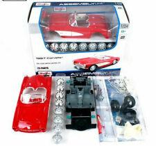 CHEVROLET CORVETTE 1957 1:24 scale KIT diecast model toy car die cast Miniature