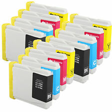 12 Pack LC51 LC-51 Ink Fits Brother MFC-440CN MFC-465cn MFC-665CW MFC-685cw
