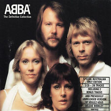 ABBA The Definitive Collection 2-disc CD NEW Dancing Queen Fernando SOS Waterloo