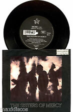 """7"""" - The Sisters of Mercy - More (Goth Rock) Germany Press. 1990, VG+, SEE PHOTO"""
