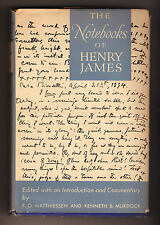 Matthiessen/Murdock,THE NOTEBOOKS OF HENRY JAMES,1947 Oxford Un.Press[taccuini
