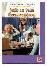 Jak se toci Rozmaryny DVD Czech Family Comedy 1977 Iva Janzurova