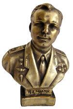USSR Soviet Russian Space Astronaut YURI GAGARIN Bust Sculpture H=11 cm.