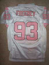 REEBOK Indianapolis Colts DWIGHT FREENEY nfl PINK Jersey Youth *GIRLS* m