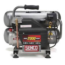 "2.5 HP 4.3 Gal Twinstack Air Compressor ""Newest"" Senco PC1131 New"